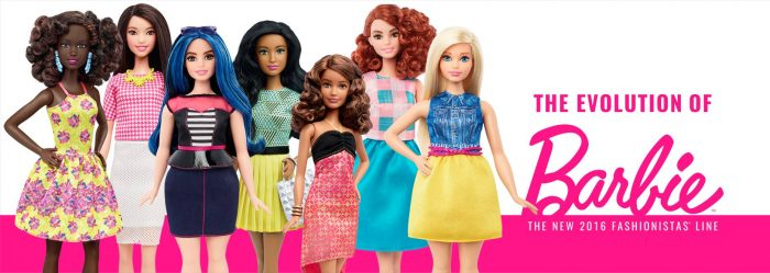"""The Doll Evolves"" – As novas versões da Barbie"